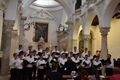 Holy Mass and concert in the convent...