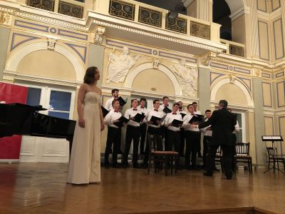 Choral revue in the Croatian National...