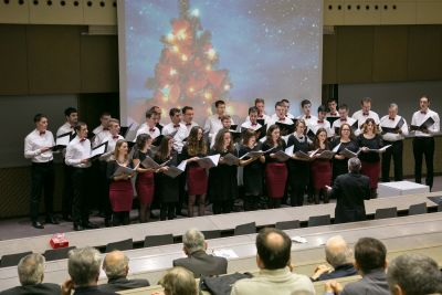 Christmas concert at FER