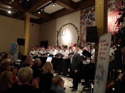 Advent concert of winners of the...