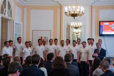 Protocolar concert in the Embassy of...