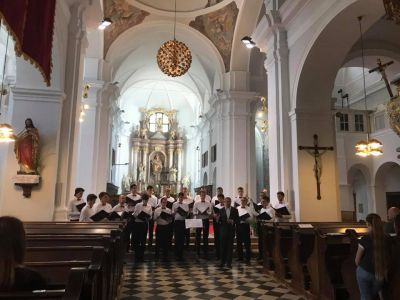 Concert in the Cistercian monastery...